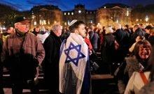 La communauté juive en France  Une des plus grande communauté juive au monde. Conférence sur l'antisémitisme tenue en mars dernier à Lille, en France