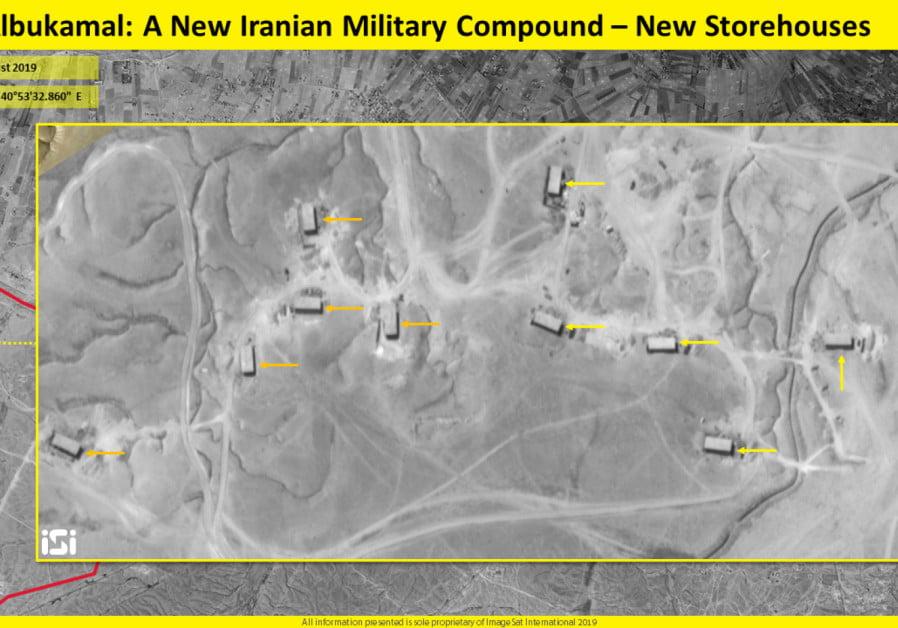 L'Iran construit une base militaire à grande échelle en Syrie