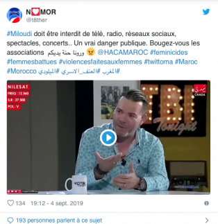Au Maroc, c'est normal, chacun peut faire ce qu'il veut de sa femme, la frapper, la tuer