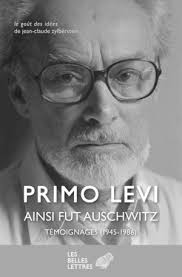 Ainsi fût Auschwitz de Primo Levi