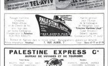 La Palestine première destination des Juifs fuyant le Reich