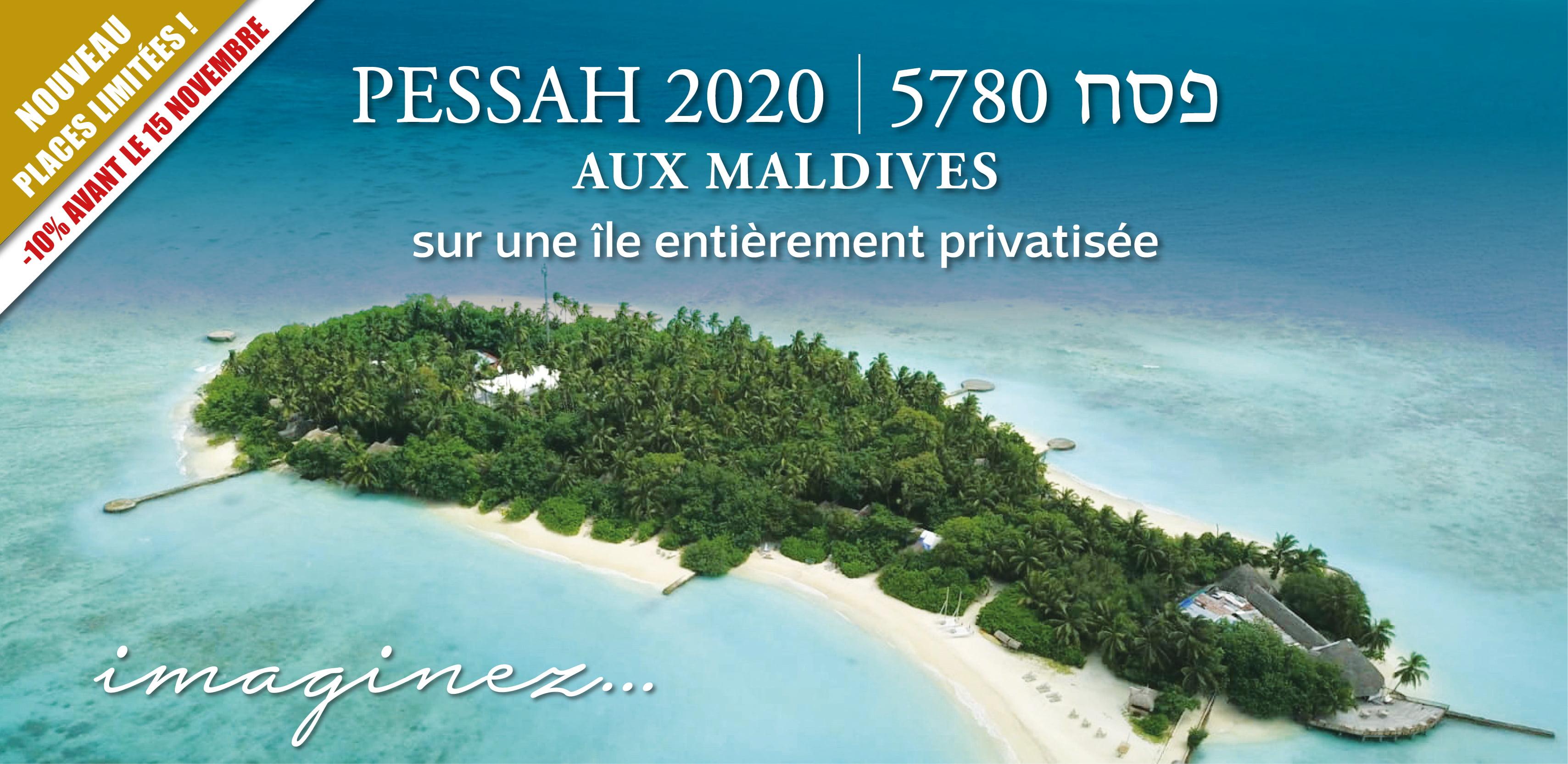 Pessah 2020 aux Maldives sejour d'exception