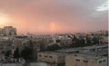Les premières pluies sont tombées en Israël