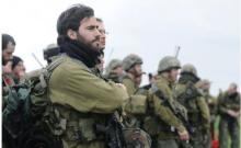 Des réservistes s'entraînent lors d'un exercice à l'échelle d'un bataillon sur les hauteurs du Golan