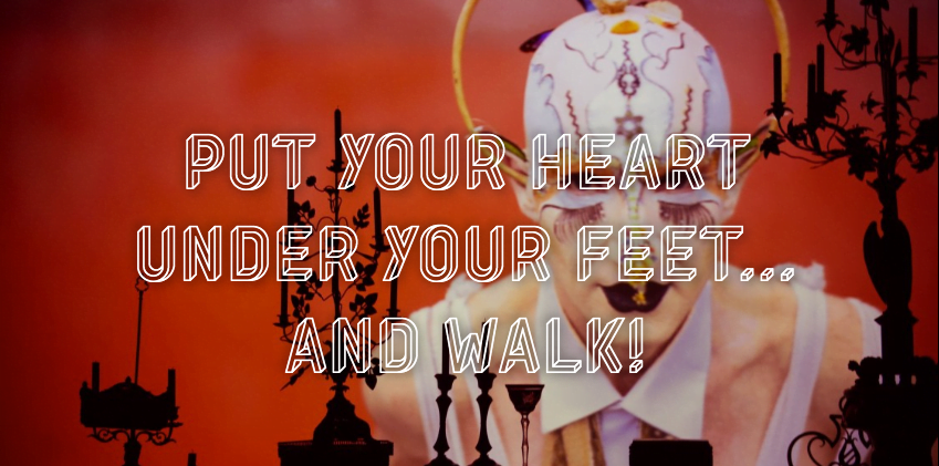 Mets ton coeur sous tes pieds et avance steeve Cohen artiste juif
