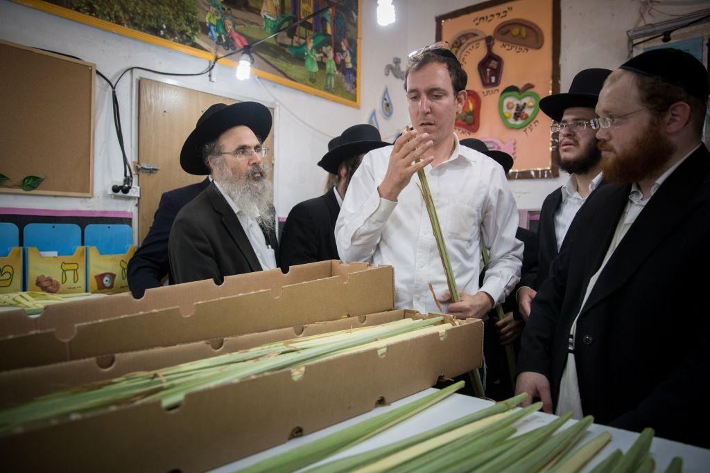 Des milliers de Loulav de Gaza sont arrivés en Israël pour la célébration de Souccot