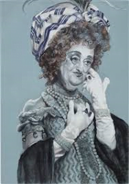 "Artiste juive Rachel Feinstein, ""Maiden, Mother, Crone"", Jewish Museum, New York"