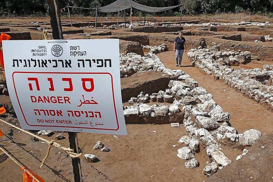 Les vestiges d'une immense ville de 5000 ans exhumés en Israël