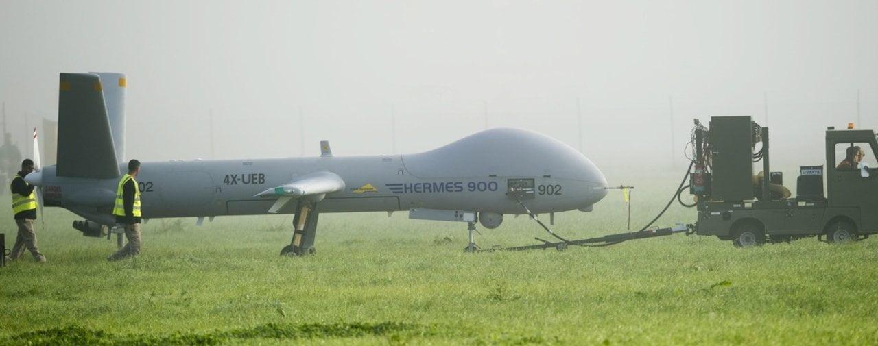 L'achat de drones israéliens soulève toujours davantage de questions