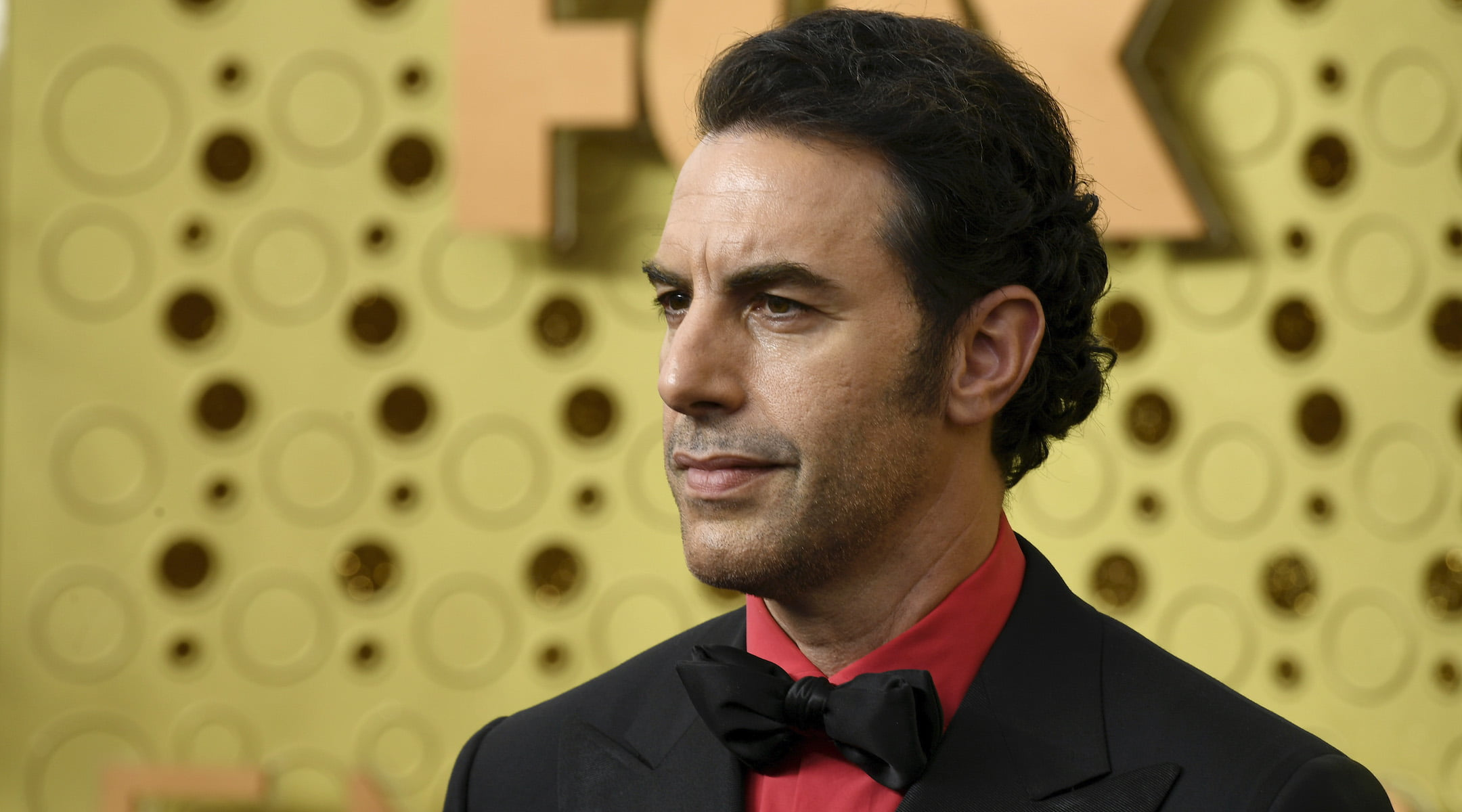 LOS ANGELES, CALIFORNIA - SEPTEMBER 22: Sacha Baron Cohen attends the 71st Emmy Awards at Microsoft Theater on September 22, 2019 in Los Angeles, California. (Photo by Frazer Harrison/Getty Images)