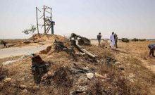 Un poste de Tsahal détruit à Rafah
