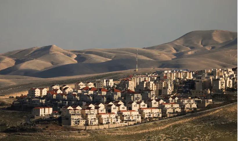 Une image générale montre des maisons dans la colonie israélienne de Maale Adumim, en Cisjordanie 15 février 2017
