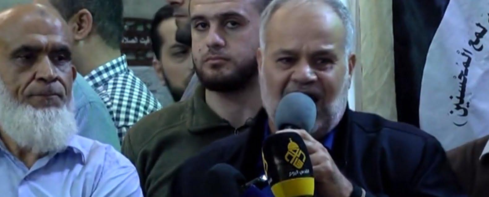 Khader Habib, responsable du Djihad islamique à Gaza : Si les sionistes ne quittent pas « l'entité », nous les massacrerons de nos propres mains