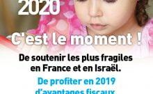 Fond social juif unifié campagne fiscale