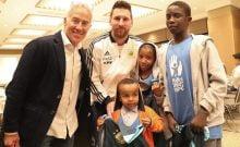 Lionel Messi enn Israël sauver le coeur d'un enfant