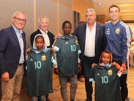 """Projet """"Sauver le cœur d'un enfant"""" avec l'équipe argentine  Photo: équipe argentine"""