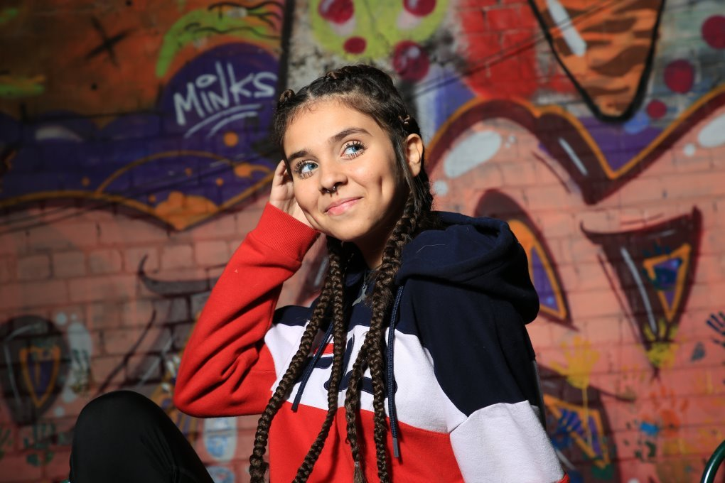 Baby Joel la star arabe israélienne de l'application Tik Tuk