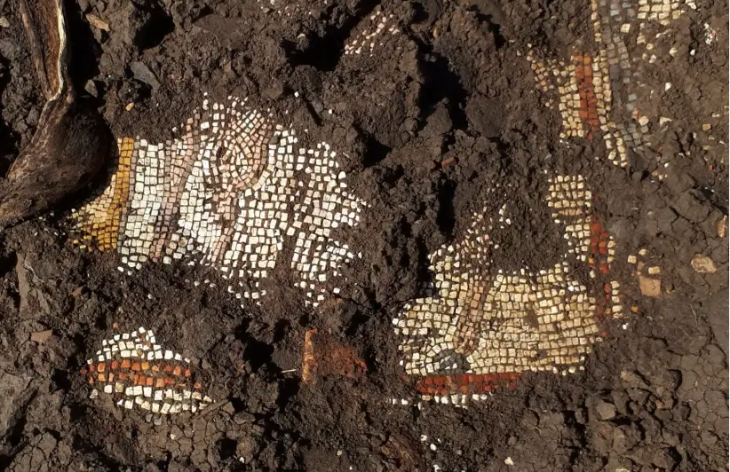 une découverte de mosaïques attestent de la présence juive dans le Golan
