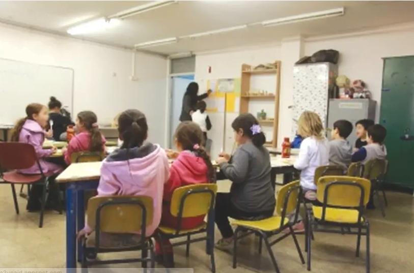LA MOITIÉ DES enfants d'Israël reçoivent une éducation du tiers-monde - et ils appartiennent aux groupes de population qui connaissent la croissance la plus rapide du pays (crédit photo: MARC ISRAEL SELLEM / LE POSTE DE JÉRUSALEM)