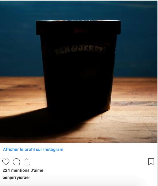 La saveur des 3eme élections par Ben & Jerry ice cream