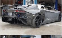 Père et fils rêvaient de conduire une Lamborghini ils l'ont imprimé en 3 D