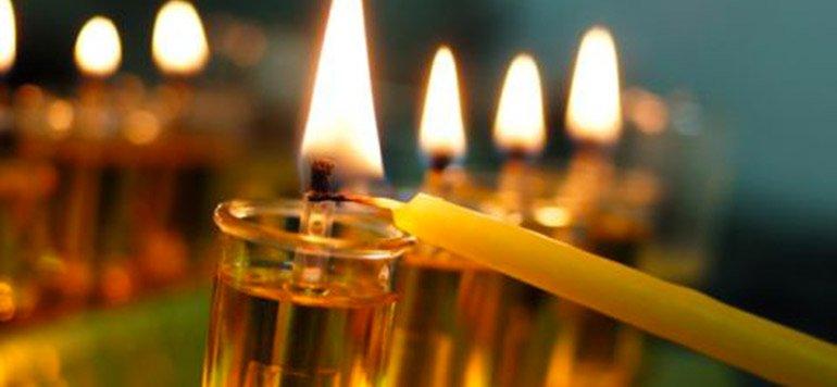Allumage des bougies de Hanoucca à Neuilly sur seine le dimanche 22 décembre 2019