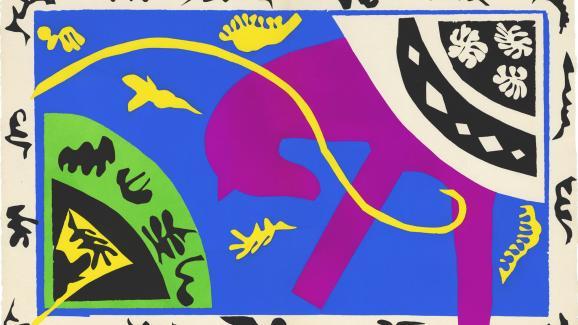 les découpages de Matisse, lorsque nous sommes créatifs, nous imitons Dieu, Créateur ultime