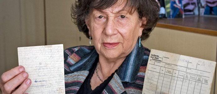 elle avait 14 ans et a écrit son journal dans le camp de concentration d'Auschwitz