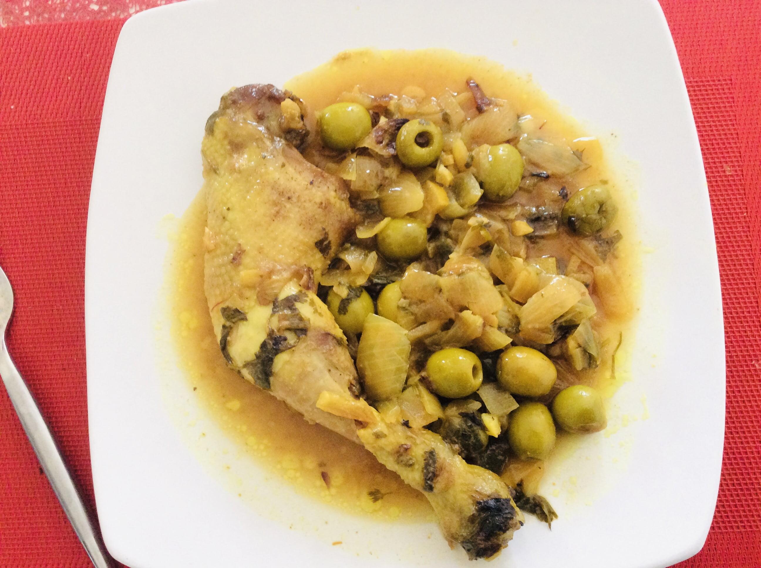 cuisine juive Cuisine juive : Poulet aux citrons confits (Beldis)