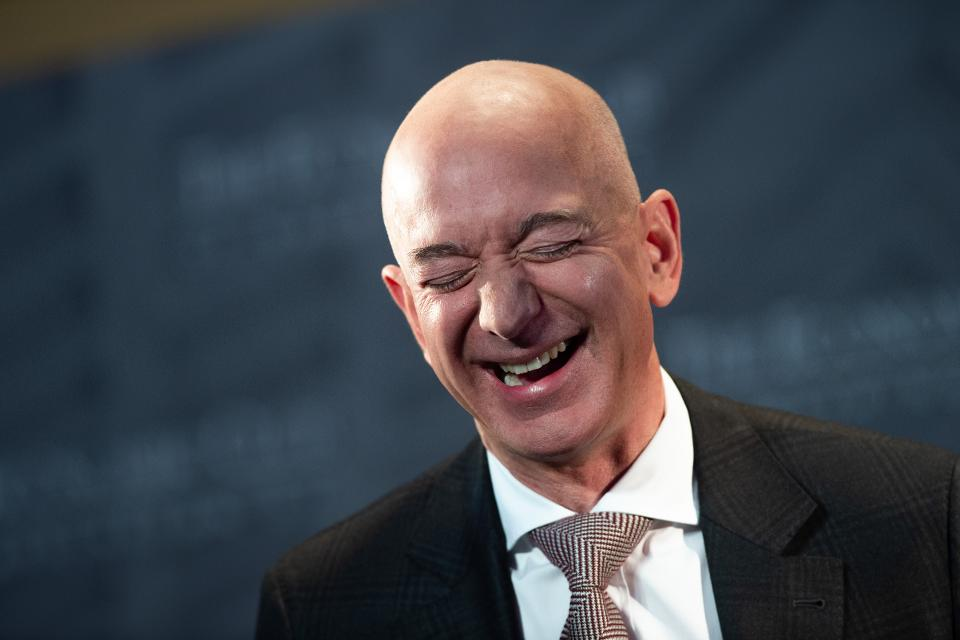 Le téléphone de Jeff Bezos fondateur d'Amazon piraté par le prince Saoudien MBS