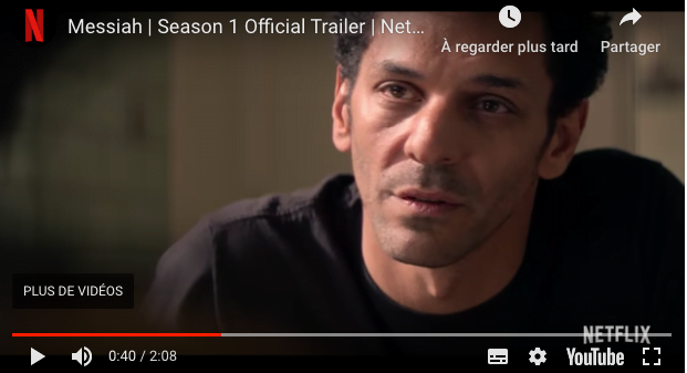 Tomer Sisley dans messiah sur Netflix