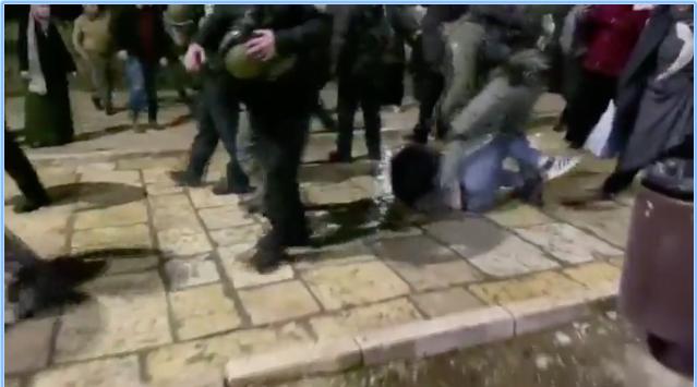 Violence policière au mont du temple à Jérusalem