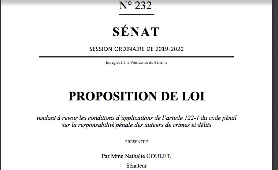 Nul ne peut invoquer sa propre turpitude pour être disculpé ainsi dit ce projet de loi 232