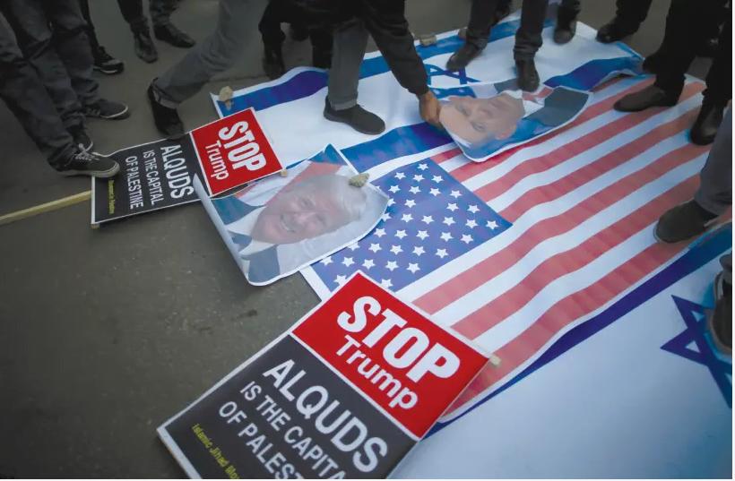 notre ennemi est en Iran pas en Israël ni aux Etats-Unis