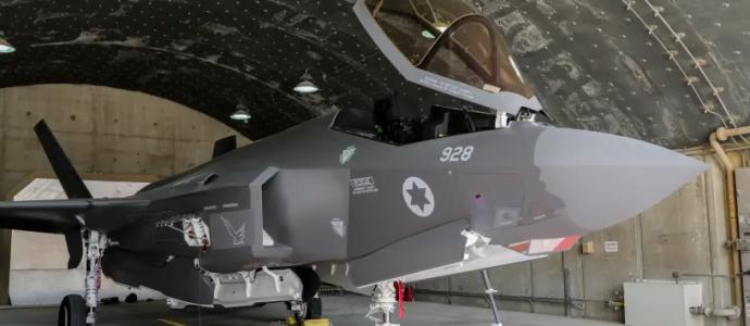Un avion F-35 de l'IAF lors de l'exercice biennal Pavillon bleu, un exercice massif avec des pilotes des États-Unis, de Grèce, d'Allemagne et d'Italie (crédit photo: MARC ISRAEL SELLEM / LE POSTE DE JÉRUSALEM)