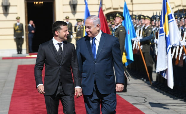 décision stupéfiante de la part du président ukrainien à Yad Vashem