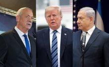Gantz en route pour le plan du siècle de Trump