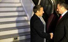 Emmanuel Macron est déjà à Jérusalem