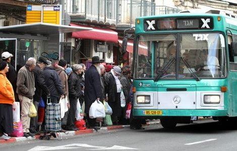 Bus d'occasion israéliens livrés au maroc