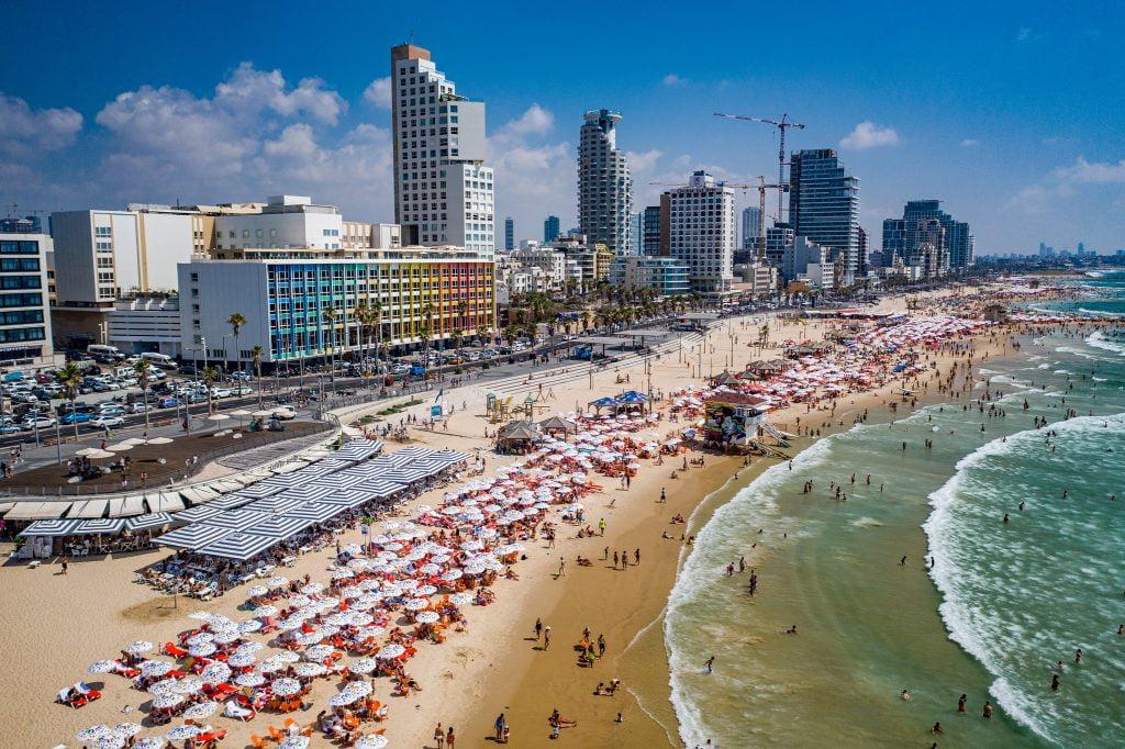 Israël plage de tel aviv