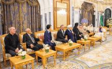 Judaïsme – Le roi Salman d'Arabie reçoit pour la première fois un rabbin israélien à Riyad.