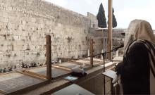 50 000 personnes se sont connectés au mur de Jérusalem