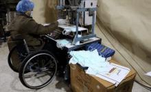 palestine fabrication de faux masques coronavirus israel