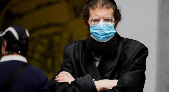 des masques à barbe pour les juifs orthodoxes et Musulmans