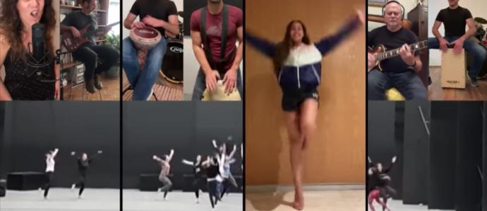 une troupe de danse juive mexicaine fait son spectacle sur Youtube -vidéo -