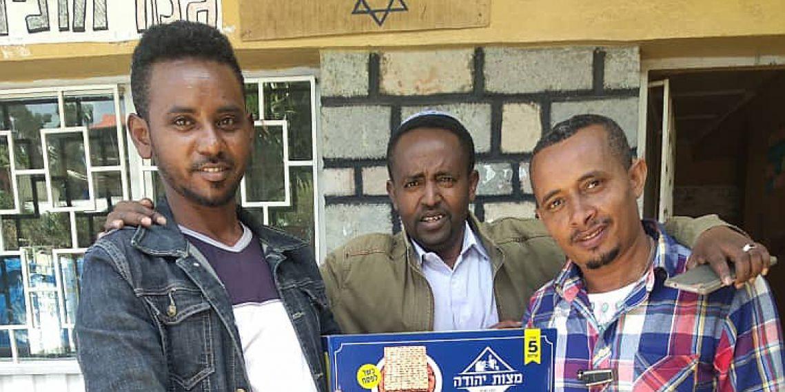 """Pour chaque Juif en Éthiopie, souhaitons"""" l'année prochaine à Jérusalem"""