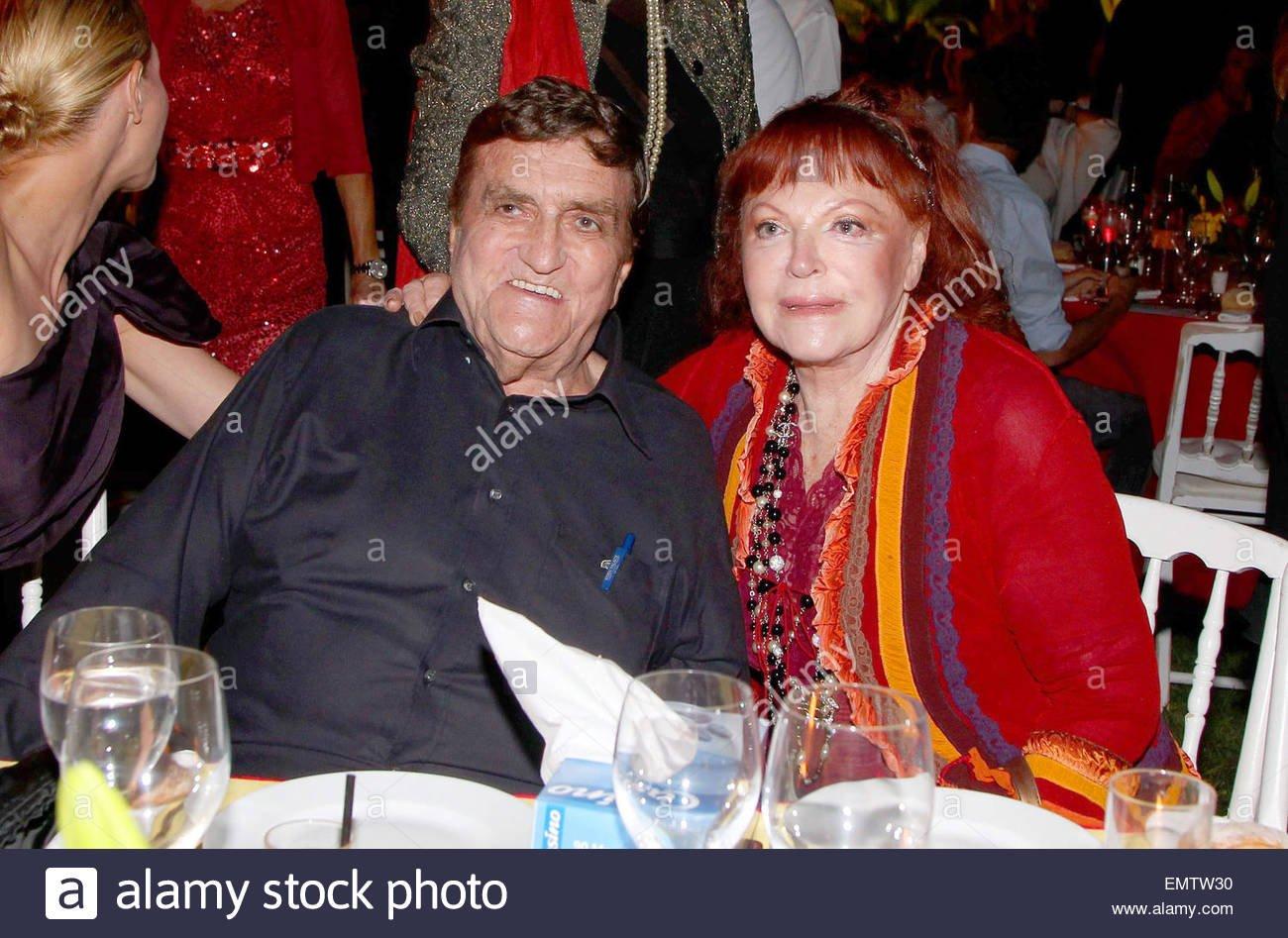 Tony Murray avec Regine à Saint Tropez