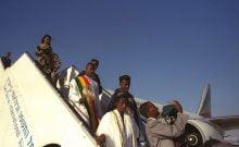 Pnina Tamanu-Shata, les éthiopiens en israel arrivent 119 nouveaux immigrants