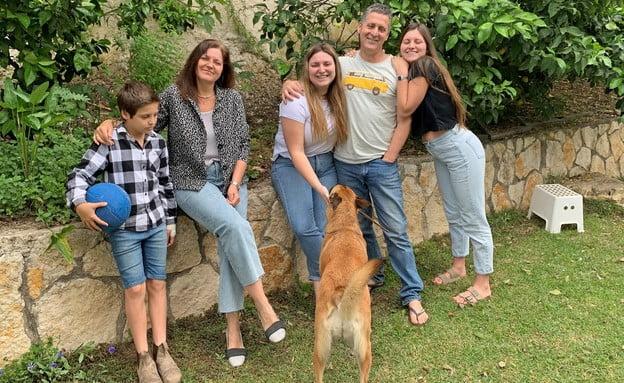 Une famille israélienne Sharon et Ryan Korter