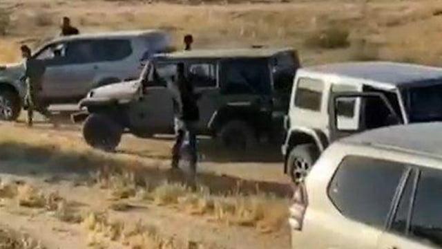 Des Bédouins attaquent et volent du matériel de l'armée israélienne, personne n'ait arrêté